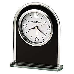 Howard Miller Ebony Tabletop Clock in Luster