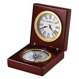 Howard Miller Pursuit Tabletop Clock in Rosewood Hall