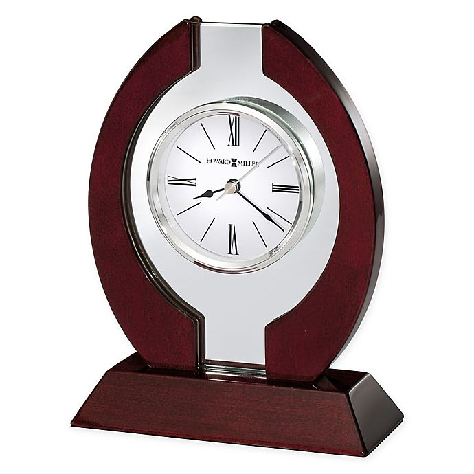 Alternate image 1 for Howard Miller Clarion Tabletop Clock in Rosewood Hall