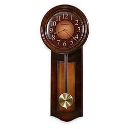 Howard Miller Avery 11.5-Inch Wall Clock in Rustic Cherry