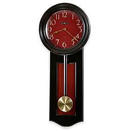 Howard Miller Alexi 11.5-Inch Wall Clock in Worn Black