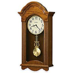 Howard Miller Jayla 12.25-Inch Wall Clock in Legacy Oak