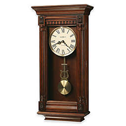 Howard Miller Lewisburg 13.75-Inch Wall Clock in Tuscany Cherry