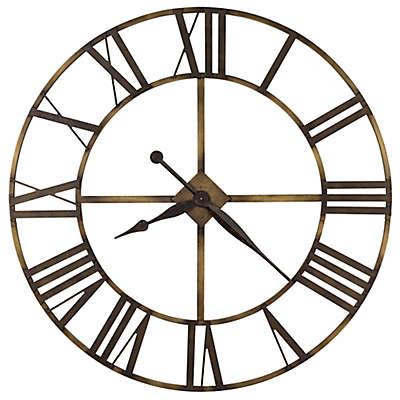Howard Miller Wingate Wrought Iron Wall Clock