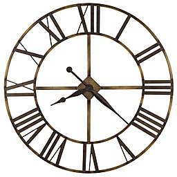 Howard Miller 49-Inch Wingate Wrought Iron Wall Clock