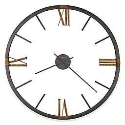 Howard Miller 60-Inch Prospect Park Wrought Iron Wall Clock