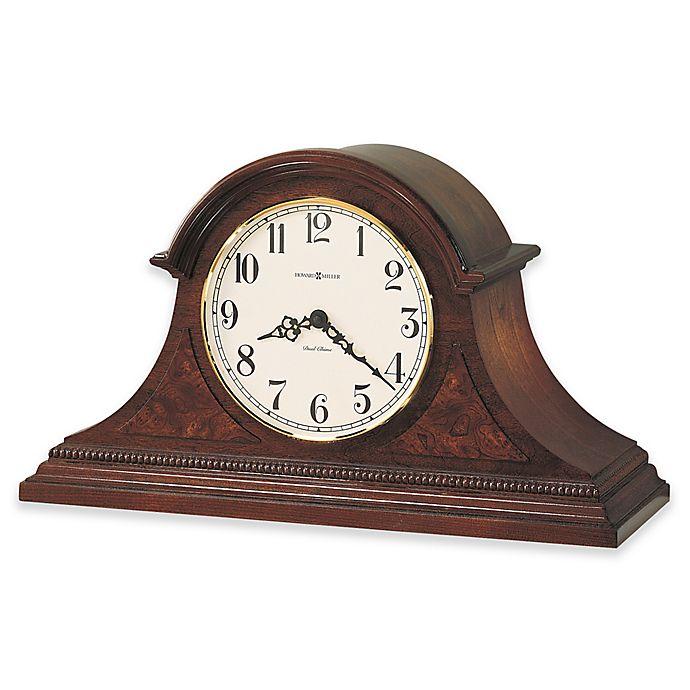 Alternate image 1 for Howard Miller Fleetwood Mantel Clock in Windsor Cherry