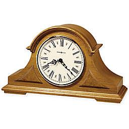 Howard Miller Burton Mantel Clock in Golden Oak