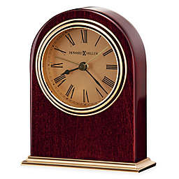 Howard Miller Parnell Tabletop Clock in Rosewood Hall