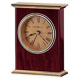 Howard Miller Laurel Tabletop Clock in Rosewood
