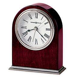 Howard Miller Walker Tabletop Clock in Rosewood