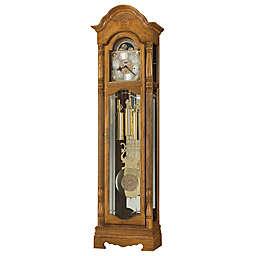 Howard Miller Browman Floor Clock in Golden Oak