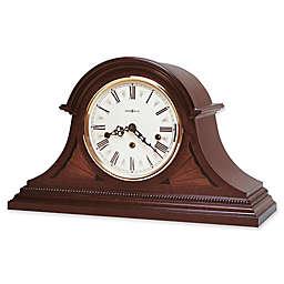 Howard Miller Downing Mantel Clock in Copley Mahogany