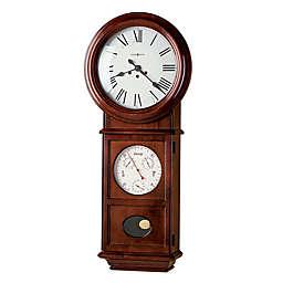 Howard Miller Lawyer II 15.25-Inch Wall Clock in Windsor Cherry