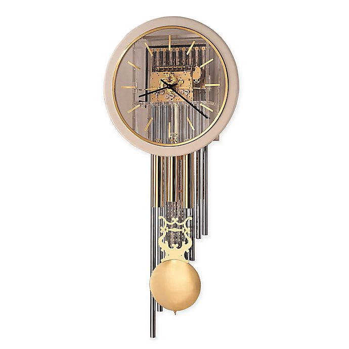 Alternate image 1 for Howard Miller Focal Point Wall Clock in Polished Brass