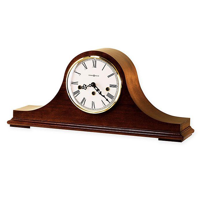 Alternate image 1 for Howard Miller Mason Mantel Clock in Windsor Cherry