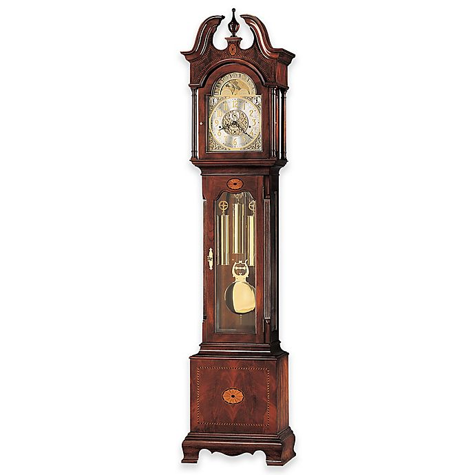 Alternate image 1 for Howard Miller Taylor Floor Clock in Windsor Cherry
