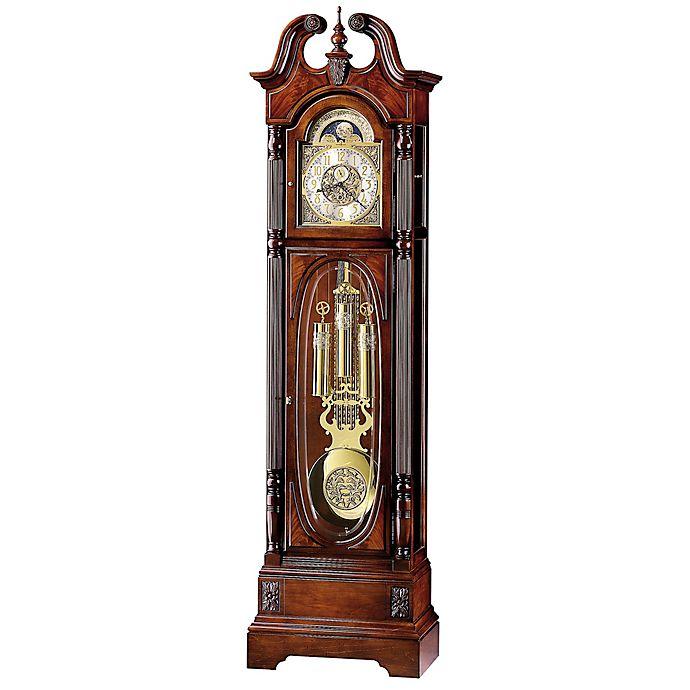 Alternate image 1 for Howard Miller Stewart Anniversary Floor Clock in Windsor Cherry