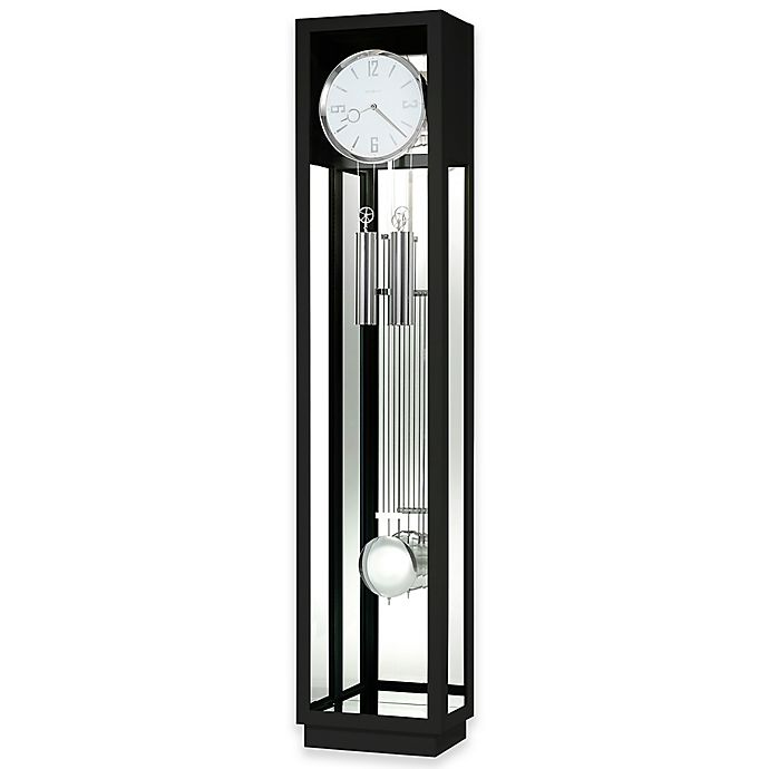 Howard Miller Whitelock Ii Floor Clock In Gloss Black Bed Bath