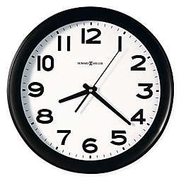 Howard Miller Kenwick Wall Clock in Black Satin