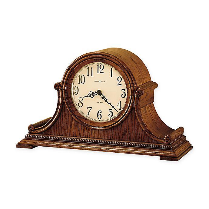 Alternate image 1 for Howard Miller Hillsborough Mantel Clock in Yorkshire Oak