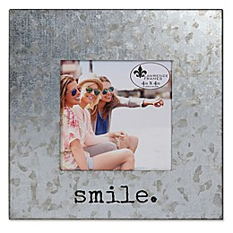 Lawrence Frames 4-Inch x 4-Inch Galvanized Metal Smile Frame