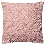 Magnolia Home By Joanna Gaines Evan Square Throw Pillow in Blush