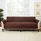 Sure Fit® Sofa Recliner Furniture Protector in Chocolate