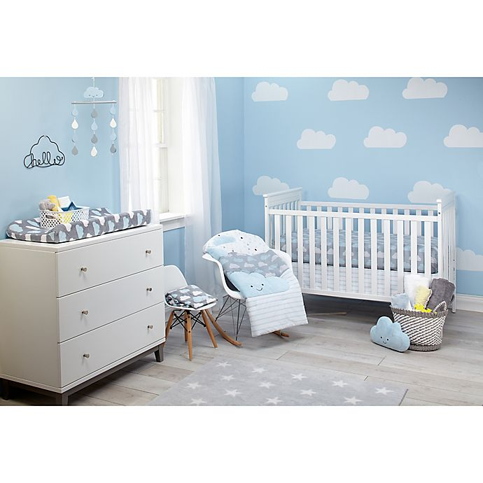 Alternate image 1 for Little Love by NoJo® Happy Little Clouds Crib Bedding Collection