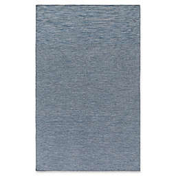 Surya Everett Hand-Woven 5' x 7'6 Area Rug in Dark Blue