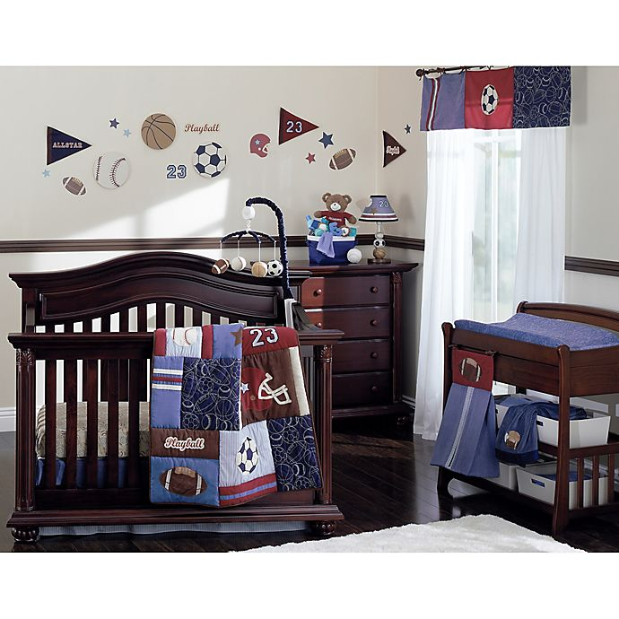 Alternate image 1 for NoJo® Play Ball Crib Bedding Collection
