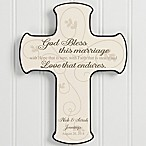 Wedding Blessing Wall Cross