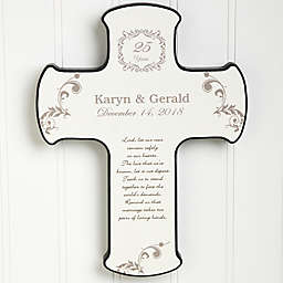 Our Anniversary Blessing Cross