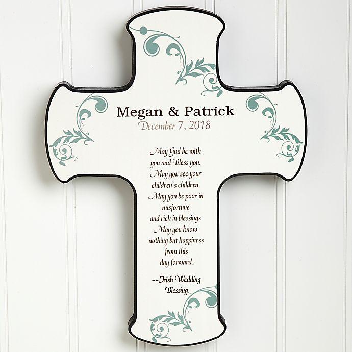 Irish Wedding Gifts From Ireland: Irish Wedding Blessing Cross