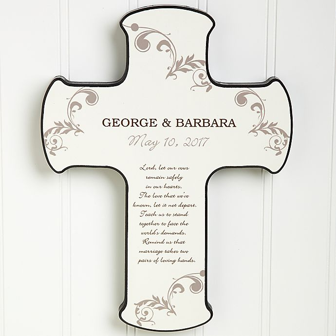 Alternate image 1 for Marriage Blessing Cross