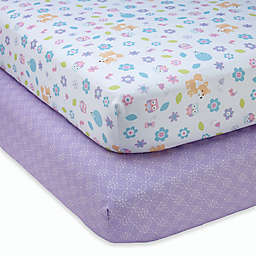 Little Love by NoJo® Adorable Orchard Fitted Crib Sheets (Set of 2)