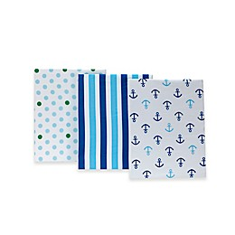 Little Bedding by NoJo® Splish Splash Fitted Crib Sheets (Set of 3)