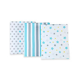 Little Bedding by NoJo® Twinkle Twinkle Fitted Crib Sheets (Set of 3)