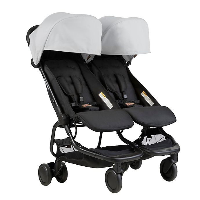 Alternate image 1 for Mountain Buggy® Nano Duo Stroller in Silver