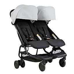 Mountain Buggy® Nano Duo Stroller in Silver