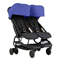 Mountain Buggy® Nano Duo Stroller in Nautical Blue