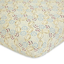 NoJo® Play Ball Fitted Crib Sheet