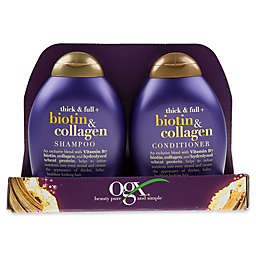 OGX® Value 2-Pack Thick and Full Biotin and Collagen Shampoo and Conditioner