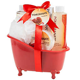 Freida & Joe Pomegranate Tub Bath Gift Set