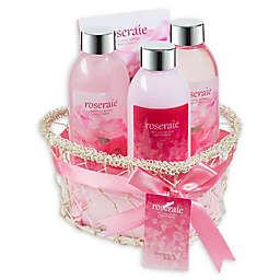 Freida & Joe Roseraie Spa Bath & Body Gift Basket