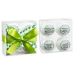 Freida & Joe Aromatherapy Lakeside Tranquility 4-Piece Bath Bomb Set