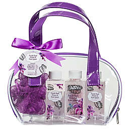 Purple Basil Flower & Kale Splash Gift Bag