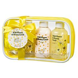 Freida & JoeWild Flower & Honey Comb Spa Bag Gift Set