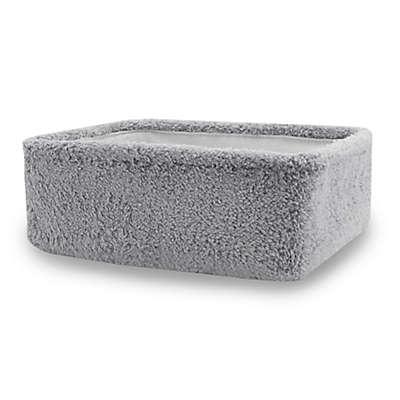 UGG® Carson Sherpa Storage Tote in Grey