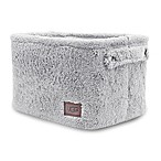 UGG® Carson Sherpa Medium Storage Tote in Grey